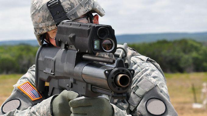 """Intelligente Munition für das Schlachtfeld von Morgen: H&K fürchtet, mit """"XM 25"""" könnten US-Soldaten gegen das Völkerrecht verstoßen."""