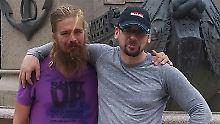 Die Brüder Anton und Stefan Pilipa.
