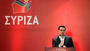 """Ungelöste Krise in Griechenland: Tsipras warnt Schäuble vor """"Spiel mit dem Feuer"""""""