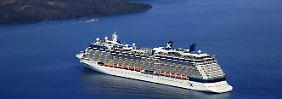 Zwei Millionen Deutsche an Bord: Rekord bringt Kreuzfahrtbranche in Sektlaune