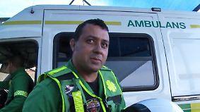 Einsatz unter Lebensgefahr: Rettungssanitäter leben in Kapstadt gefährlich