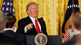 """CNN: """"Unglaublicher Geschichtsmoment"""": Trump gibt denkwürdige Pressekonferenz"""