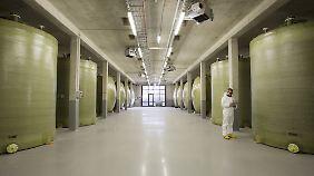 """Die Speicher von """"RedoxWind"""" sollen bis zu 20 Megawattstunden Strom aufnehmen."""