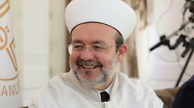 """Diyanet-Chef Mehmet Görmez sieht in dem Abzug von sechs Imamen aus Deutschland ein """"Zeichen des guten Willens""""."""