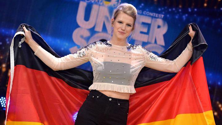 Deutschlands ESC-Hoffnungen ruhen auf ihr: Isabella Levina Lueen, kurz Levina.
