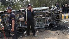"Nach IS-Anschlag in Pakistan: Militär tötet ""mehr als hundert Terroristen"""