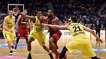 Im Pokalfinale gegen Bamberg: Bayerns Basketballer entthronen Alba Berlin