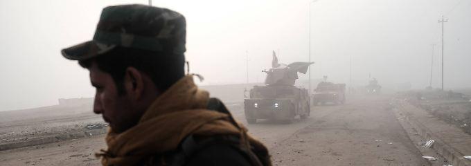 UN besorgt: Irak beginnt Anti-IS-Offensive in Mossul