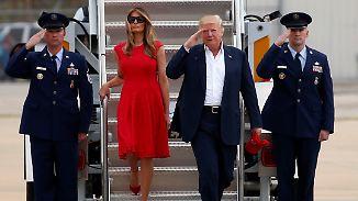 Weitere Breitseiten gegen Medien: Reisen und Schutz der Trump-Familie übersteigen übliche Kosten enorm