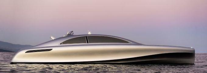 Aufmerksamkeit garantiert: Autobauer beeindrucken mit Superjachten