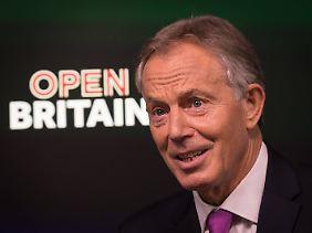 Mag sich mit einem Brexit nicht abfinden: Der frühere britische Premierminister Tony Blair.