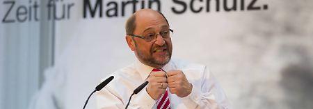 SPD-Wahlkampfthema: Schulz will bei Agenda 2010 nachbessern