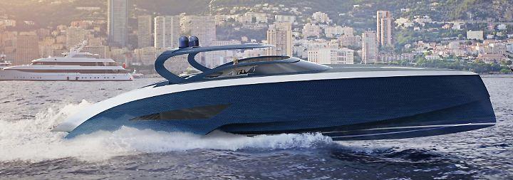 Denn in diesem Fall kann man für Preise ab zwei Millionen Euro das Carbon-Schiff kaufen.