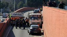 Geisterfahrt mit Gasflaschen: Spanische Polizei schießt auf Lkw-Fahrer