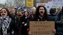 """11 Millionen fürchten Ausweisung: Trump ordnet Razzien gegen """"Illegale"""" an"""