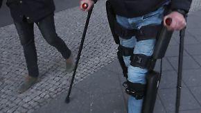 Startup News: Gelähmter berichtet über seine Erfahrung mit dem Exoskelett
