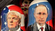 Trumps und Putins Bromance: Sind die Flitterwochen beendet?