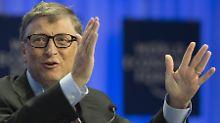 Findet den neuen Ansatz der deutschen Entwicklungspolitik ziemlich gut: Bill Gates