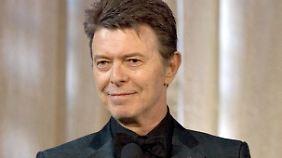 Tribut an George Michael: David Bowie bekommt bei den Brit Awards posthum zwei Auszeichnungen