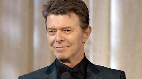 Tribut an George Michael: Bowie bekommt posthum zwei Auszeichnungen bei den Brit Awards