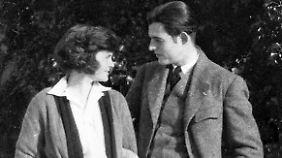 Ernest und Hadley Hemingway im Januar 1922 in Chamby.