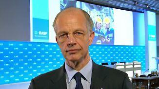 """BASF-Vorstandschef Bock zur Bilanz: """"Unsicherheit besteht über das zweite Halbjahr"""""""