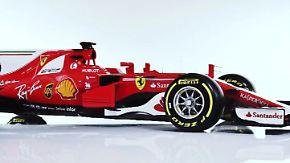 """Formel-1-Ferrari im Zeitraffer: Scuderia präsentiert seine """"Rote Göttin"""""""
