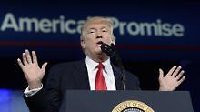 Rede auf CPAC-Konferenz: Trump verspricht große, große Zukunft