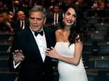 In seiner Dankesrede macht George Clooney seiner Frau Amal eine Liebeserklärung.