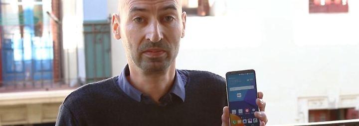 Glänzende MWC-Premiere: LG G6 ist eine robuste Schönheit