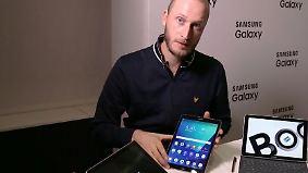 Samsung-Show auf dem MWC: Tab S3 und Galaxy Book feiern Premiere