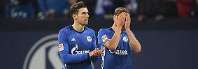 """""""Wir müssen mit dem Punkt  leben. Der Führungstreffer hat uns keine Sicherheit gegeben, wir hätten mehr Risiko gehen müssen. Hoffenheim hatte mehr Spielanteile."""" Schalke-Coach Markus Weinzierl semiglücklich mit dem Heimpunkt."""