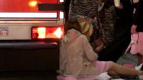 Schrecksekunde in Oberhausen und Rio: Karneval verläuft nicht überall unfallfrei