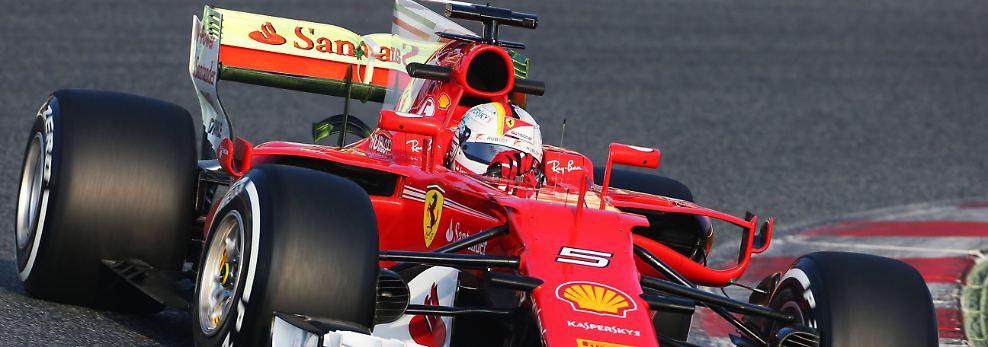 Erstes Kräftemessen in Barcelona: Das sind die neuen Formel-1-Boliden
