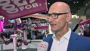 """Telekom-Chef Höttges auf dem MWC: """"5G ist der nächste Standard, der 2020 für Kunden verfügbar ist"""""""