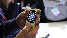 Nostalgisches Comeback: Nokia 3310 ist Publikumsmagnet