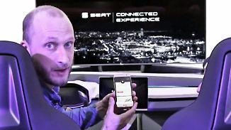 """Alles """"connected"""": So fahren die Autos von Seat in der Zukunft"""