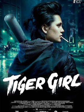 """""""Tiger Girl"""" läuft ab 6. April 2017 in den deutschen Kinos."""