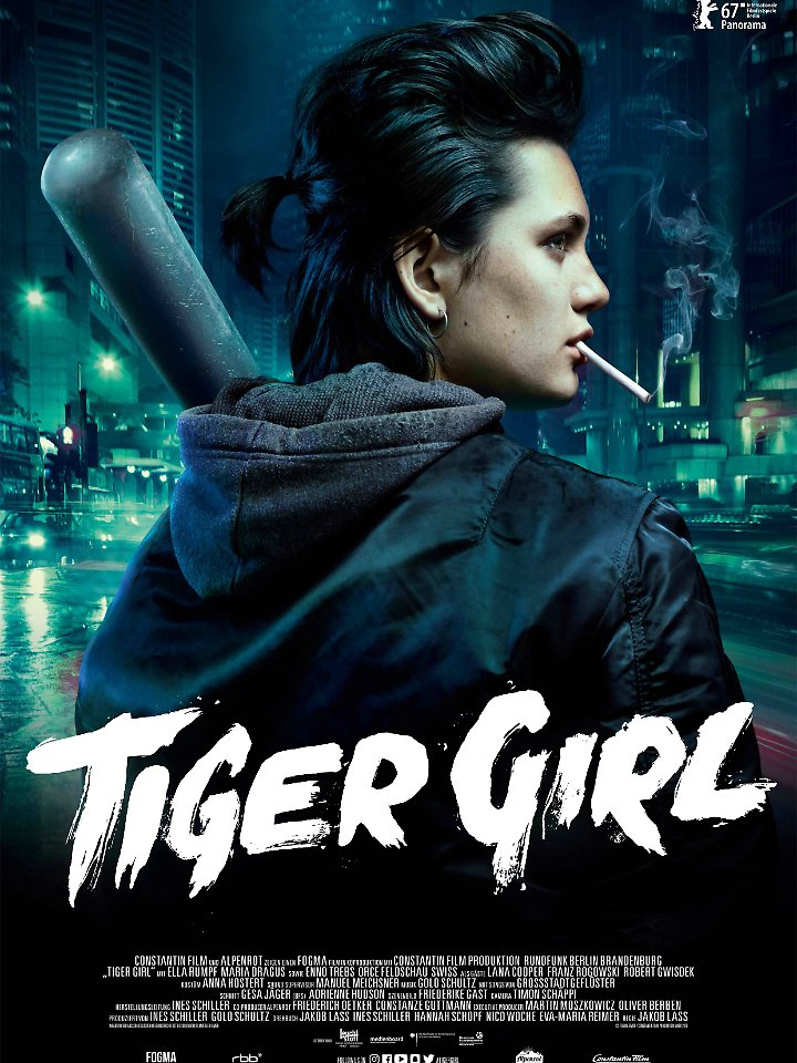 """Tiger Girl"" läuft ab 6. April 2017 in den deutschen Kinos."