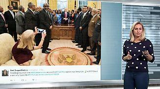 n-tv Netzreporterin: So reagieren Internetnutzer auf Conways Couch-Foto