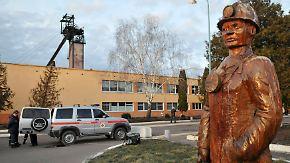 Unglück in ukrainischer Kohlegrube: Explosion reißt Bergarbeiter in den Tod
