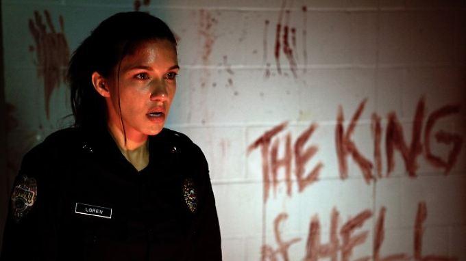 So hat sich Jessica ihre erste Schicht als Polizistin nicht vorgestellt ...