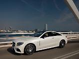 Das Mercedes E-Klasse Coupé sieht nicht nur schnittig aus, sondern ist mit der richtigen Motorisierung auch ein echter Spaßmacher.