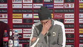 Rauswurf beim VfB Stuttgart: Großkreutz entschuldigt sich unter Tränen