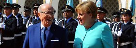 Deal mit Tunesien: Merkel setzt schnellere Abschiebungen durch
