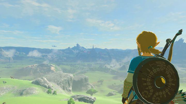 Der Spieler kann auch mal ganz einfach die Landschaft genießen.