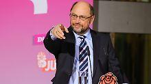 Möchte älteren Arbeitslosen stärker unter die Arme greifen: Martin Schulz