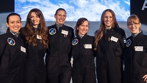 """Der Traum von der Reise ins All: Sechs Frauen wollen """"Die Astronautin"""" werden"""