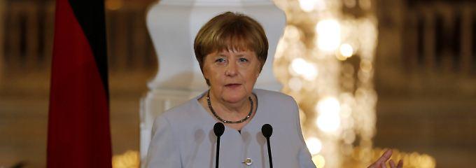 """""""Immer deplatziert"""": Merkel weist NS-Vergleich """"entschieden"""" zurück"""