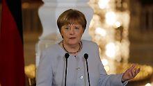 """""""Kühlen Kopf bewahren"""": Merkel weist NS-Vergleich """"entschieden"""" zurück"""